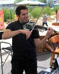 Electric Violin on Steroids