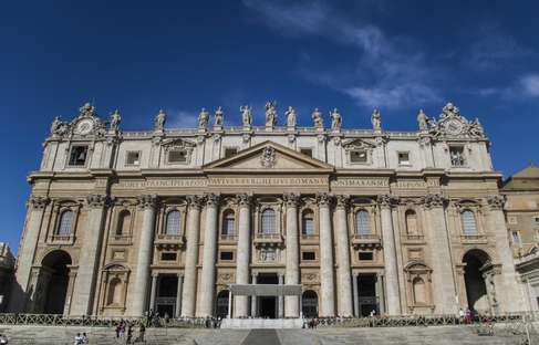 Front of the Vatican