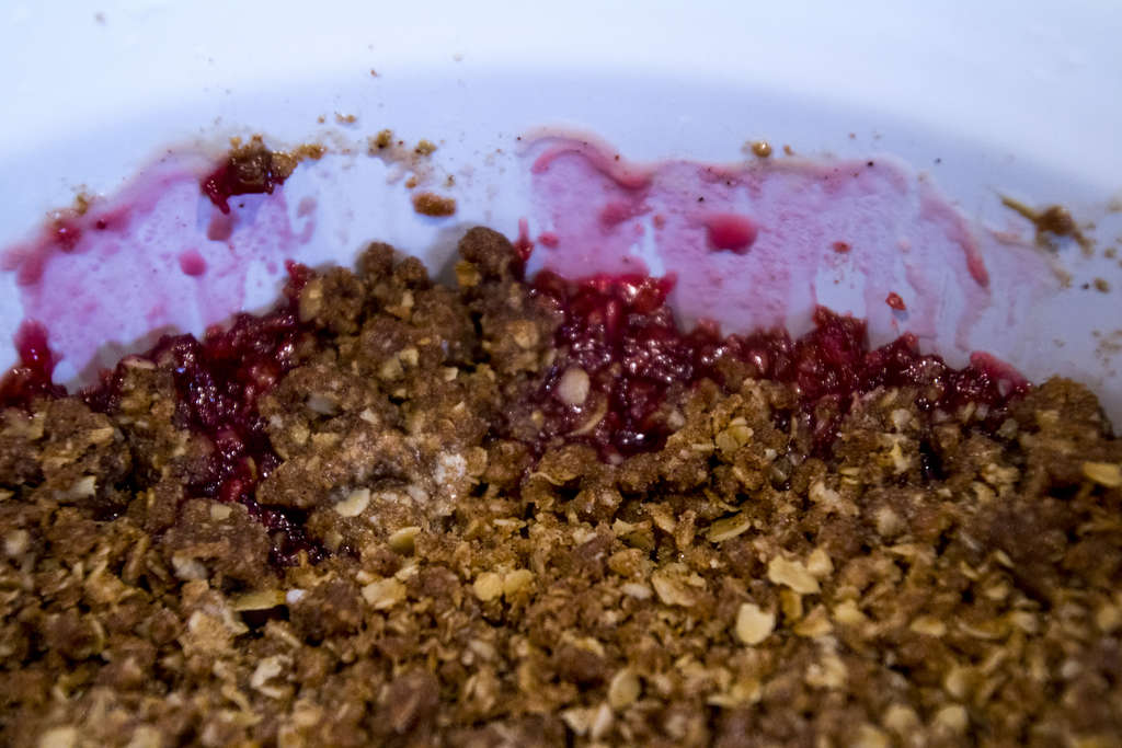 Shrinking Crumble