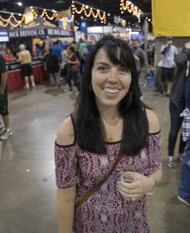 Katherine at the GABF
